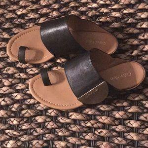 Calvin Klein Toe-ring Sandals